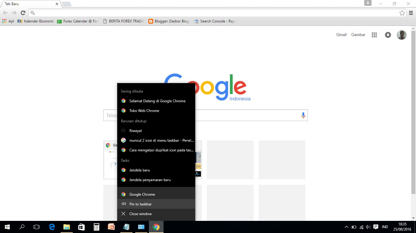 how to change google chrome icon