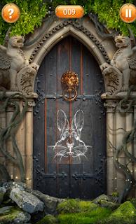 четвертая изображение в виде головы зайца составлена верно
