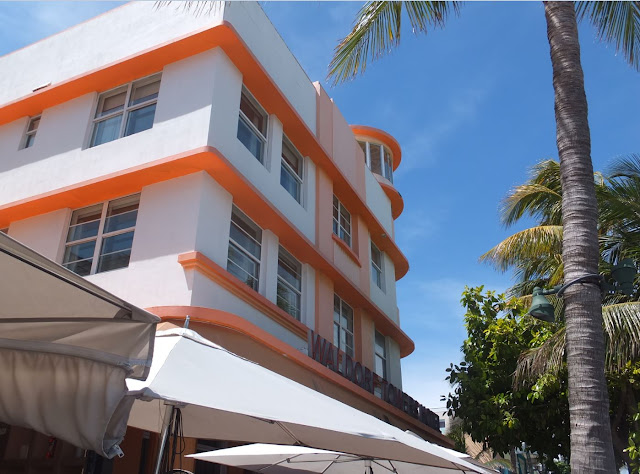 South Beach Miami Art Deco building