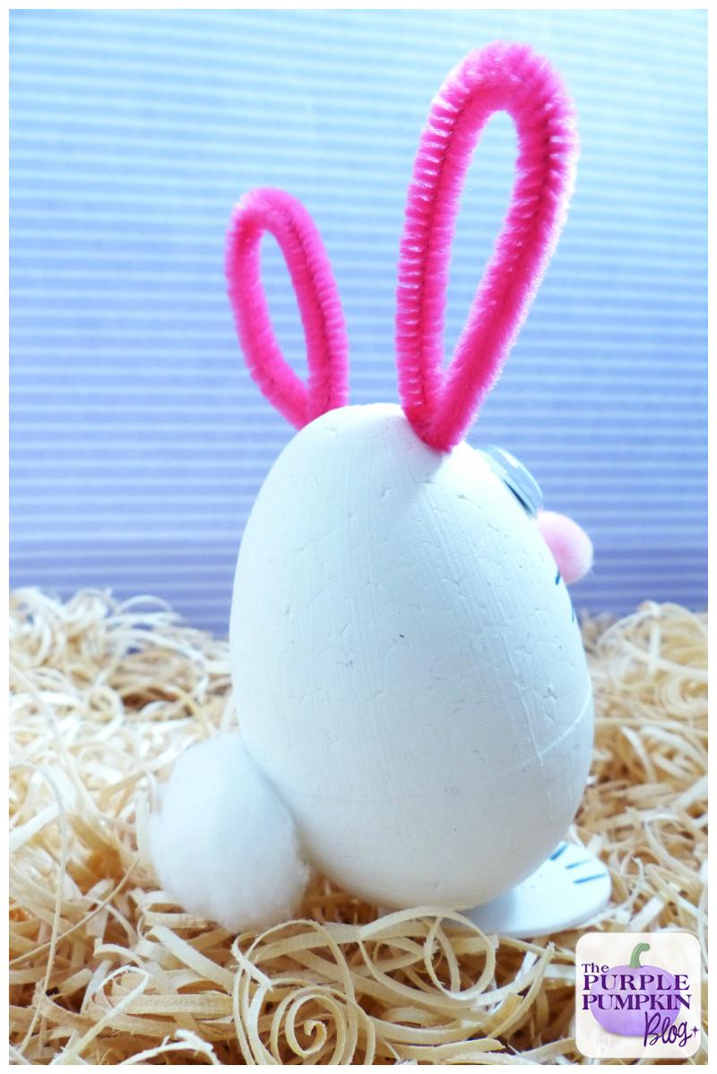 easter bunny egg crafts the purple pumpkin blog