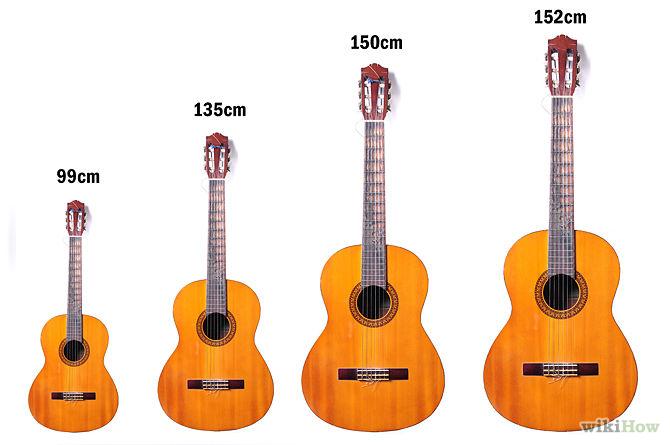 Dáng đàn guitar acoustic thông dụng
