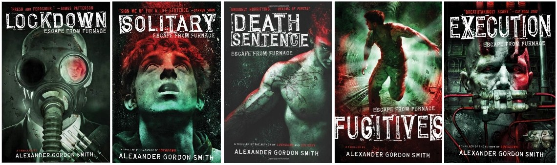 """Books Galore!: The """"Escape From Furnace"""" Series by ..."""