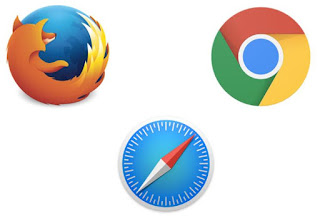 chrome firefox safari