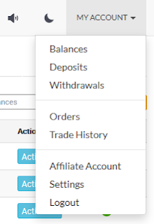 how to deposit bitcoin on coin exchange