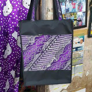 tas souvenir, tas seminar kit, tas jinjing batik