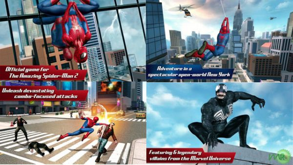The Amazing Spider Man 2 v1.2.2 (Mega Mod) APK + DATA for Android