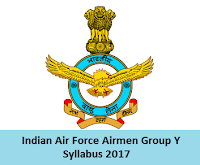 Indian Air Force Airmen Group Y Syllabus