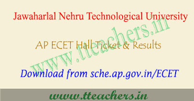 AP ECET hall ticket 2019 download, ap ecet results 2019