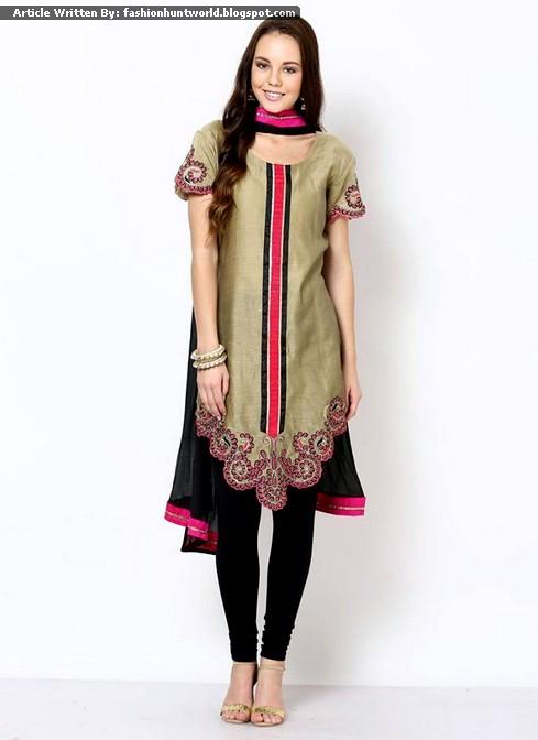 Latest Formal Wear Dresses 2017 2016 Indian Tunics Fashion
