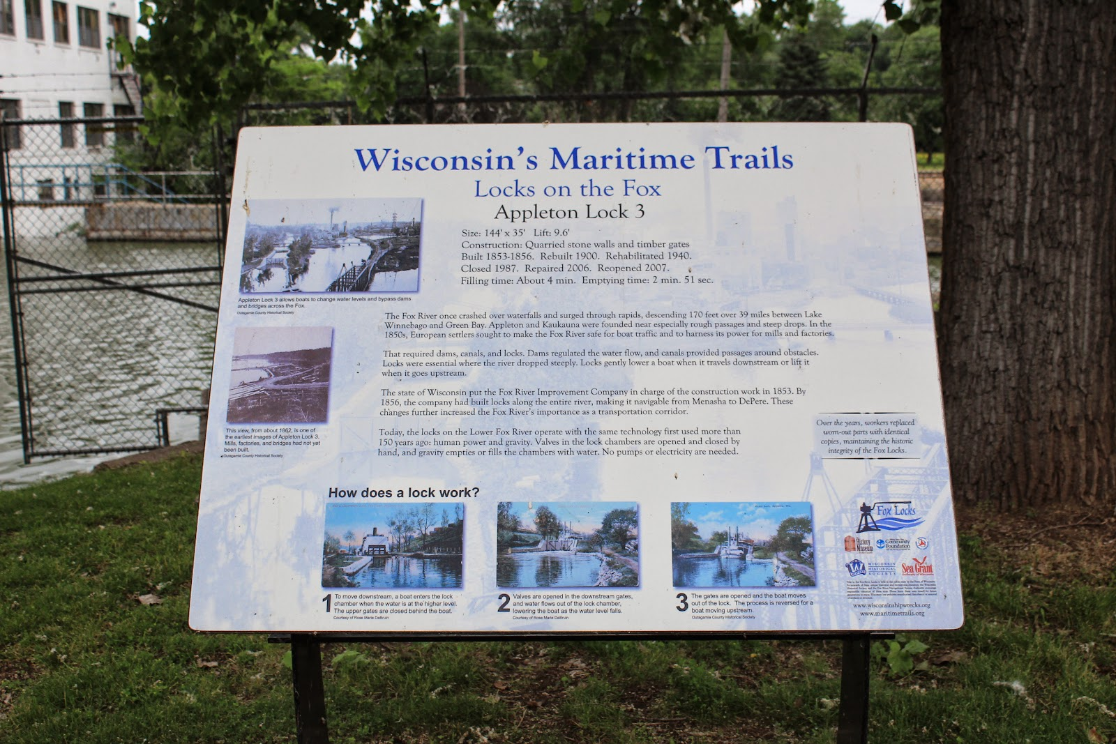 Wisconsin Historical Markers: Wisconsin's Maritime Trails