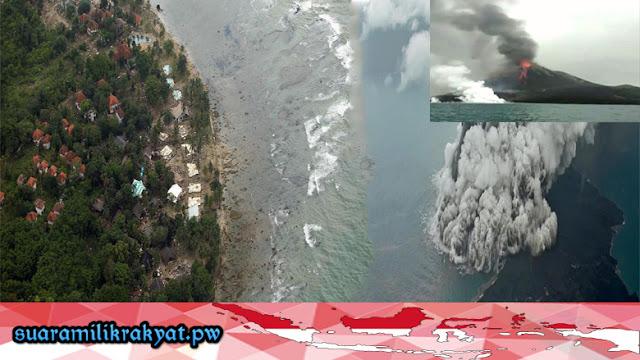Beberapa Temuan Instansi soal Tsunami Tak Terdeteksi di Selat Sunda