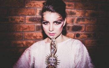 Wallpaper: Model, girl, dress