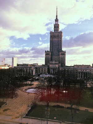 palace of science and culture in warsaw