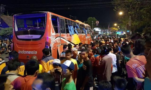 AGEN BOLA - Kecelakan Bus Di Kudus, 5 tewas Dan Puluhan luka-luka
