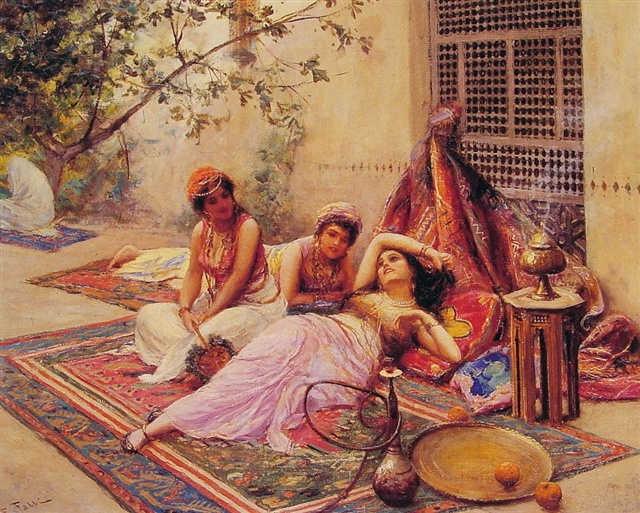 لوحات نادرة مصر بعيون Nasreddine Dinet  - مجموعة اولى