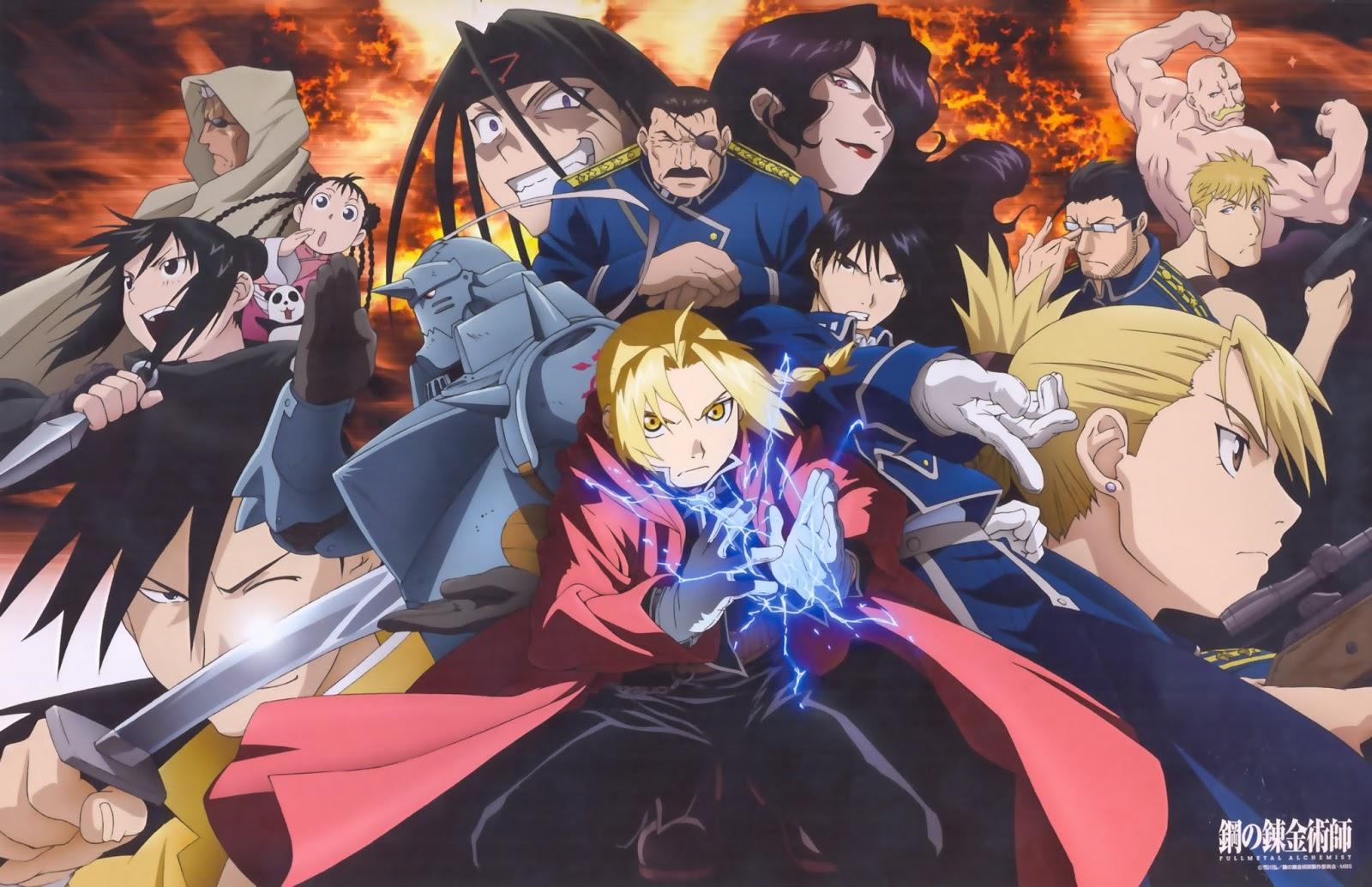 Anime İzleyen Adam: Simyacılar, Homonculuslar ve Zırhlar Bir Başyapıt; Fullmetal Alchemist: Brotherhood