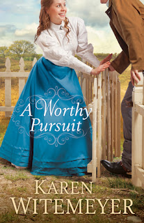 Book Cover of A Worthy Pursuit by Karen Witemeyer
