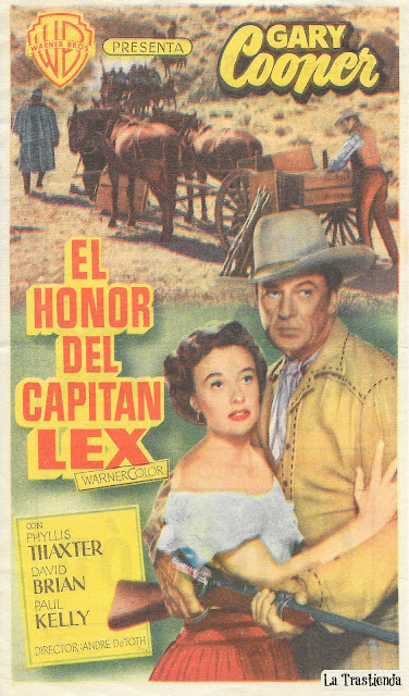 El Honor del Capitán Lex - Programa de Cine - Gary Cooper - Phyllis Thaxter