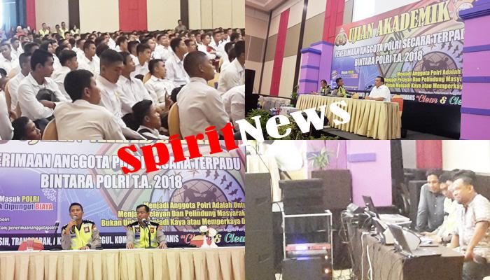 1.010 Orang Casis Bintara Usai Uji Akademik di Hotel Dalton  Makassar