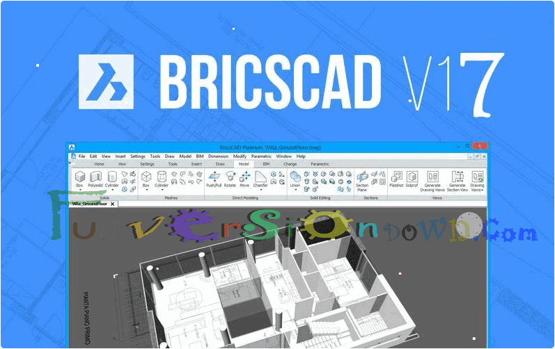Bricsys BricsCAD Platinum Full Crack