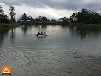 Menguji Perahu Landing Craft Aluminium untuk rescue dan evakuasi