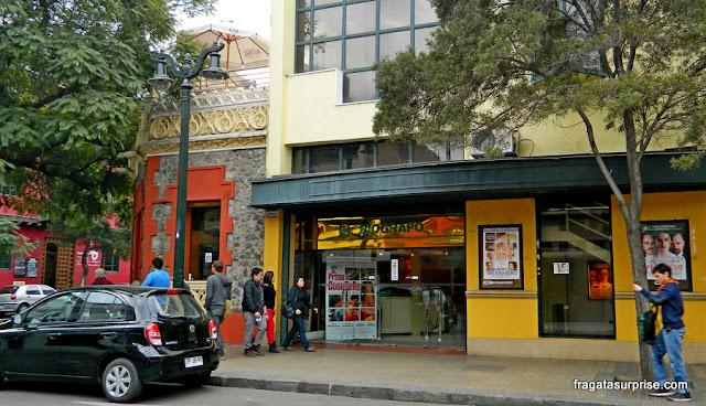 Cine El Biografo, Lastarria, Santiago do Chile