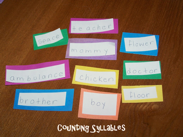 how to break words into syllables