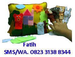 Mainan Edukasi dari Flanel Bantal Cerita