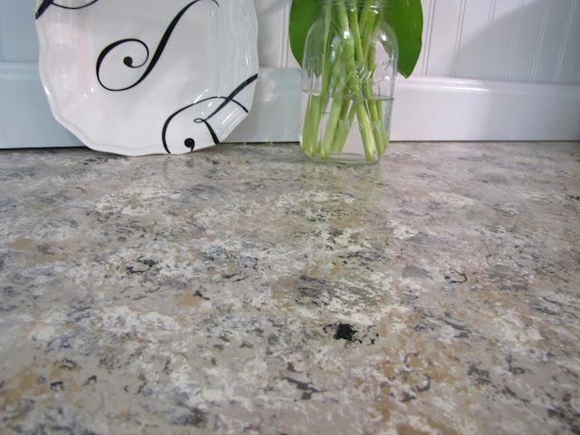 faux granite countertops