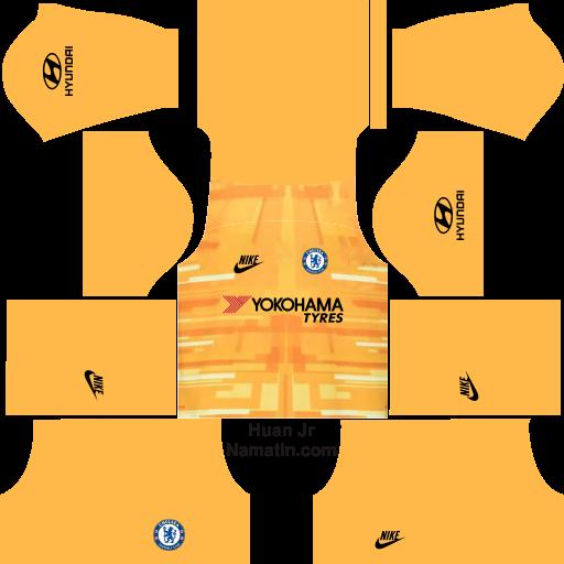 Seragam Dream League Soccer Chelsea