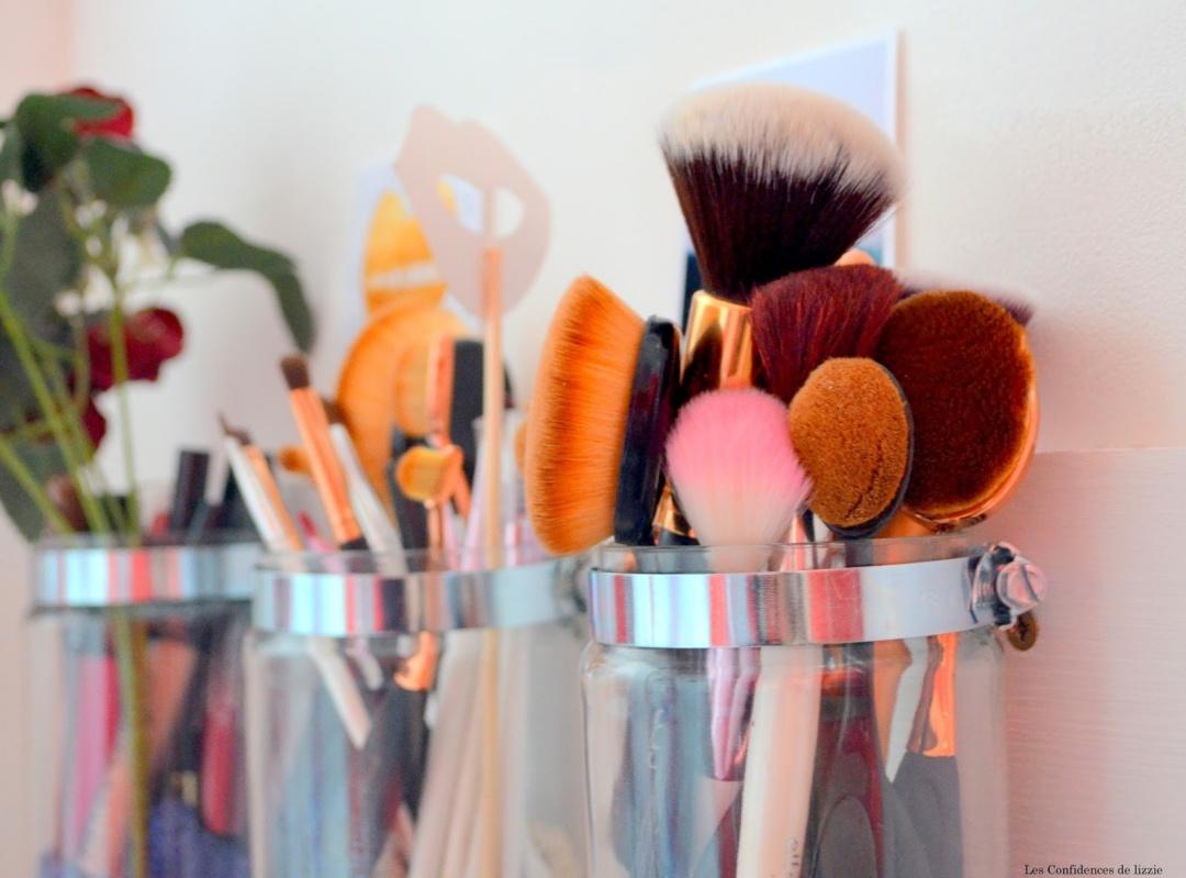 création - DIY - embellir sa salle de bains à moindres frais - embellir sa cuisine facilement