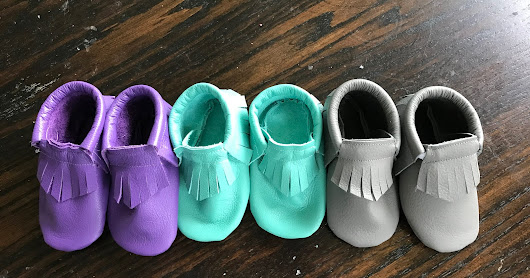 DIY Sew Your Own Baby Moccasins!