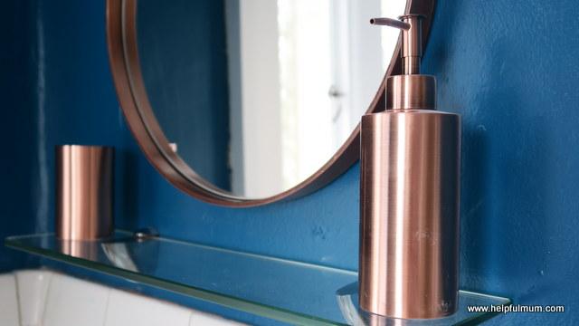 My copper bathroom makeover | Helpful Mum