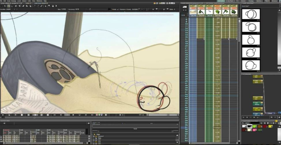 OpenToonz opensource and free software for animation