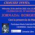 """Jornada """"Borges e Israel"""" en Cidicsef. Con la presencia de Maria Kodama"""