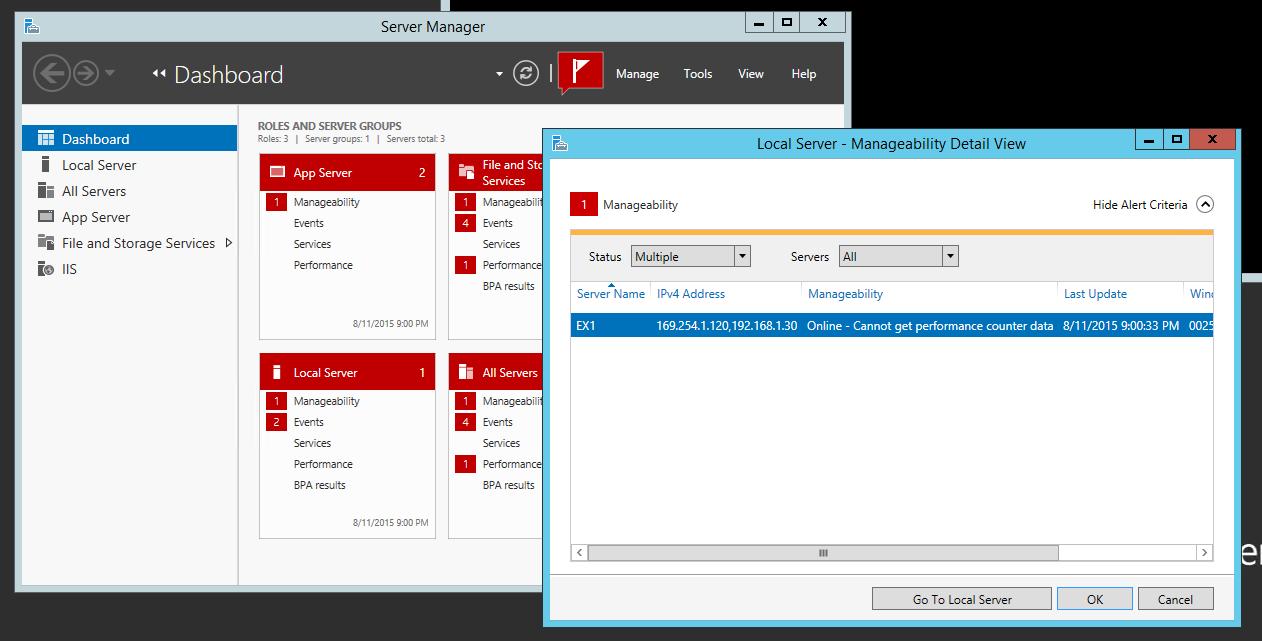 The EXPTA {blog}: Fix for Server Manager Error:
