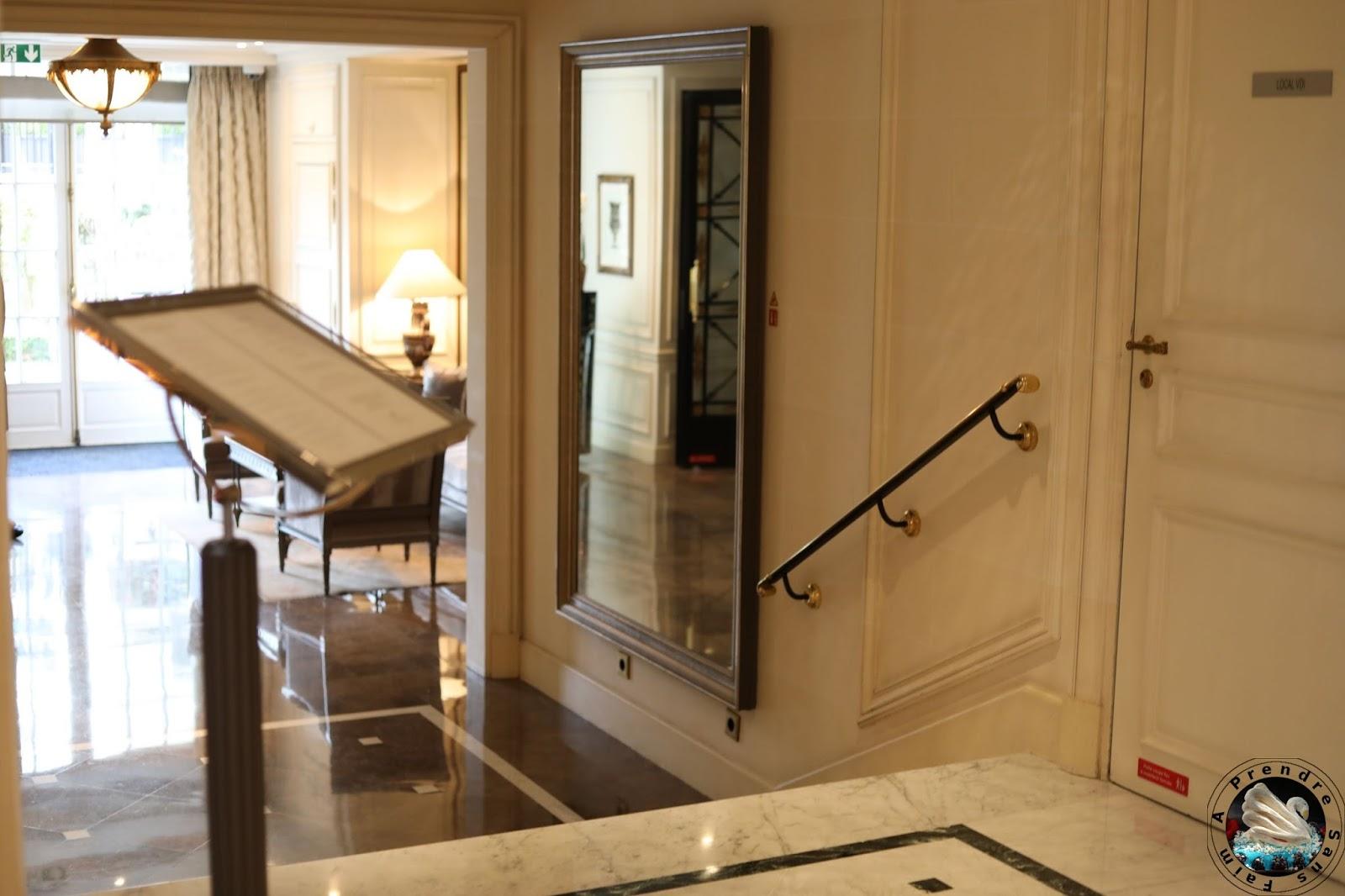 L'Abeille au Shangri-La hotel Paris