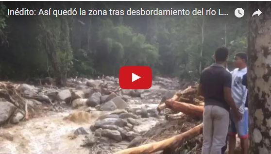 Cuatro muertos por crecida del Río Choroní