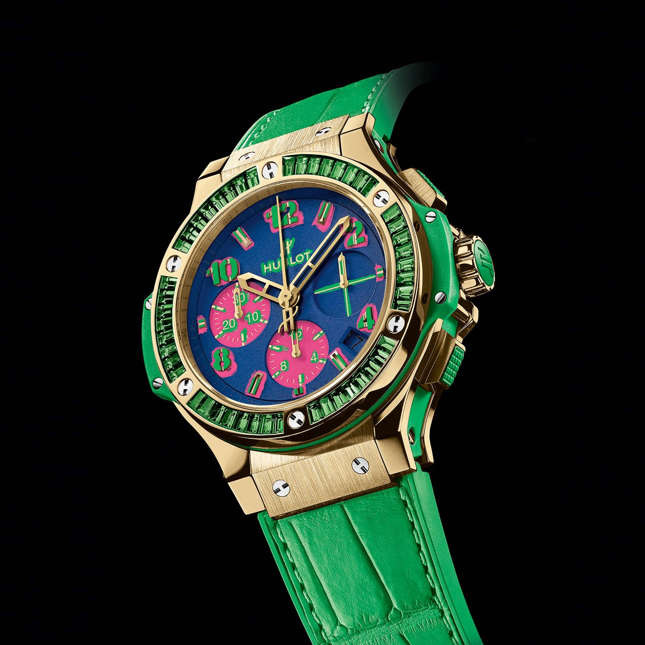 Hublot Big Bang Pop Art Automatic Chronograph Watch blue