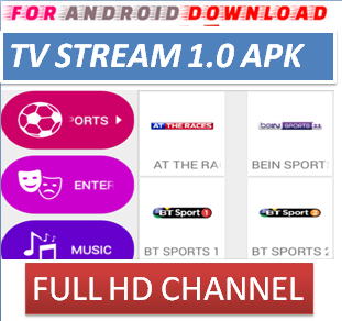 Download Android Free TVStream1.0 IPTV Apk -Watch Free Live Cable Tv Channel-Android Update LiveTV Apk  Android APK Premium Cable Tv,Sports Channel,Movies Channel On Android