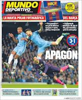 Portada Mundo Deportivo 1 noviembre 2016