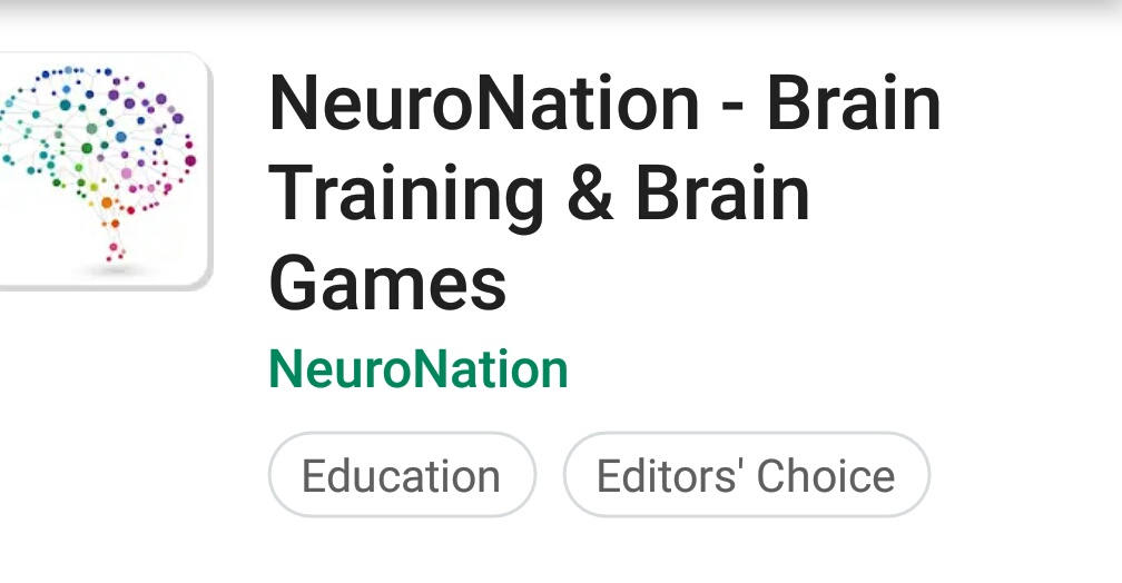 NeuroNation: A fitness app for your brain
