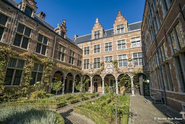 Casa y Jardín de Plantin Moretus - Amberes, por El Guisante Verde Project