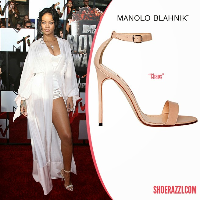 2529bccf0c5ea Its not only Carrie is fan of Manolo shoes, its also a famous Diva from  Barbados!