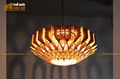 Thế Giới Đèn Gỗ - 8 mẫu đèn trang trí gỗ cho phòng ăn đẹp lung linh 1