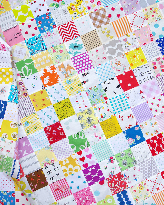 Scrapbuster Quilt | © Red Pepper Quilts 2016