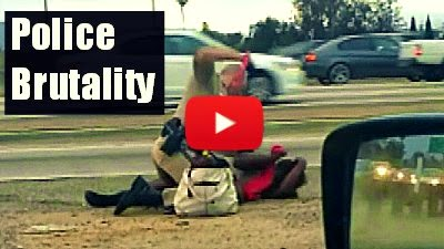 watch this CHP officer repeatedly punch the woman via geniushowto.blogspot.com caught on camera videos