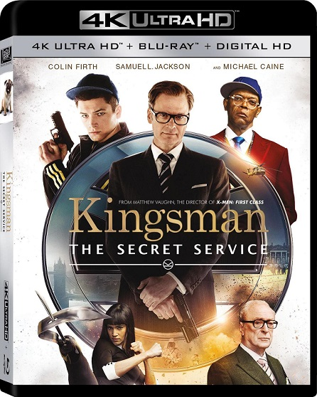 Kingsman: The Secret Service 4K (Kingsman: El Servicio Secreto 4K) (2014) 2160p 4K UltraHD HDR BluRay REMUX 45GB mkv Dual Audio DTS-HD 7.1 ch