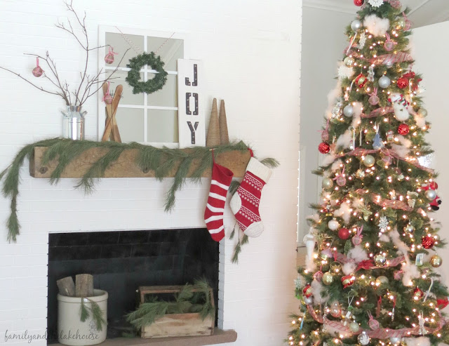 Christmas Home Tour - Family and the Lake House