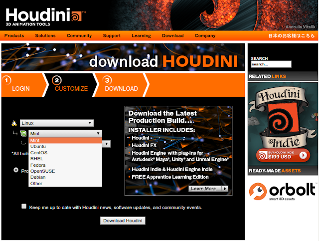 Houdini Download